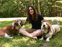 Andria Corso (with Bella and Champ) Board Member