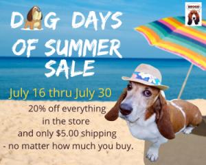 Website Dog Days of Summer Sale Version 2